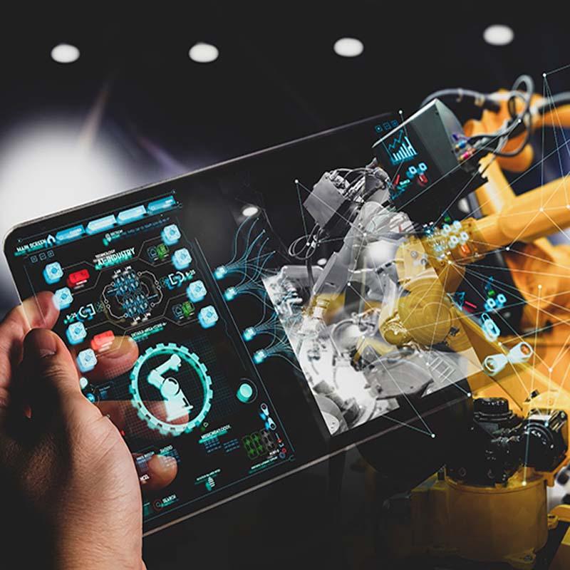 IoT Industrial Transformação digital