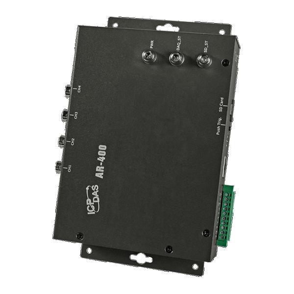 Datalogger Vibração IEPE 4 canais AR-400